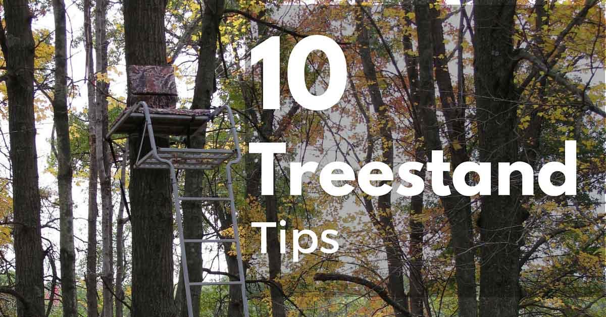Ten Treestand Tips