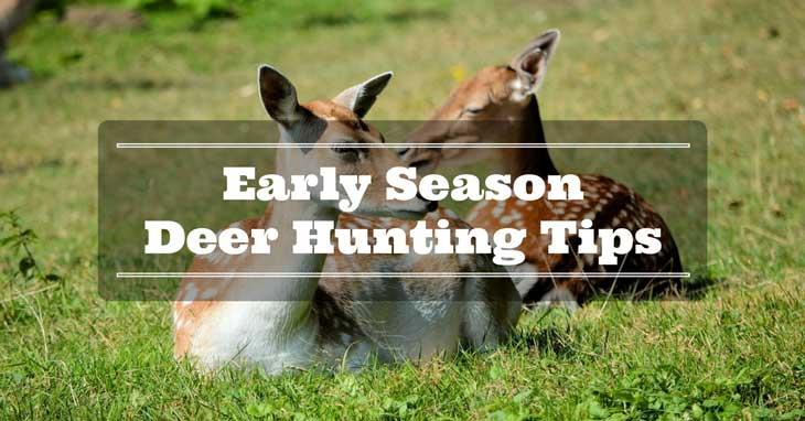 Early-Season Deer Hunting Tips